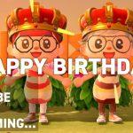 お誕生日おめでとう!!  伊織あんカップルの「あつまれ どうぶつの森」 #34 Playing Animal Crossing: New Horizons