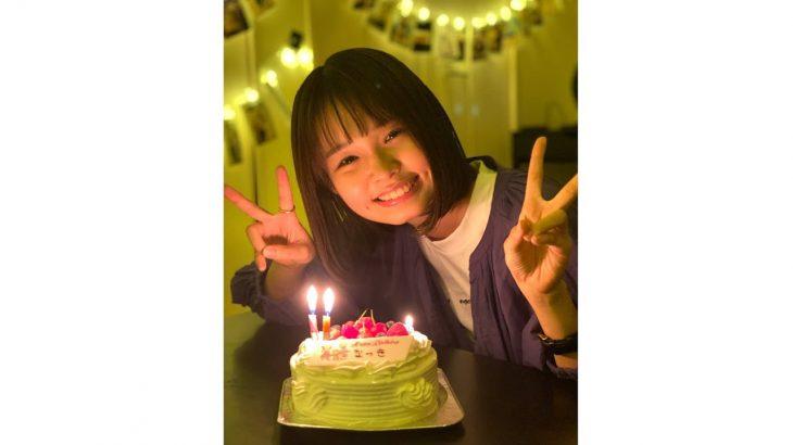 この笑顔が見たかった。誕生日おめでとう。