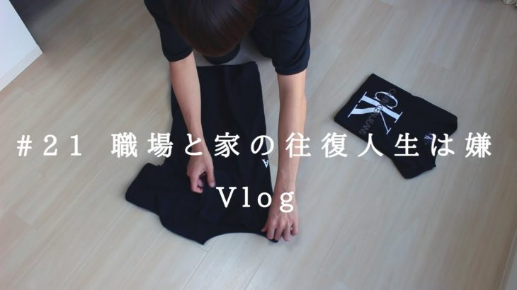 Vlog | #21 | ミニマリスト | 丁寧な暮らし | 衣替え | 28歳独身男性 | お洒落 | 潔癖症 | 婚活 | ペアーズ