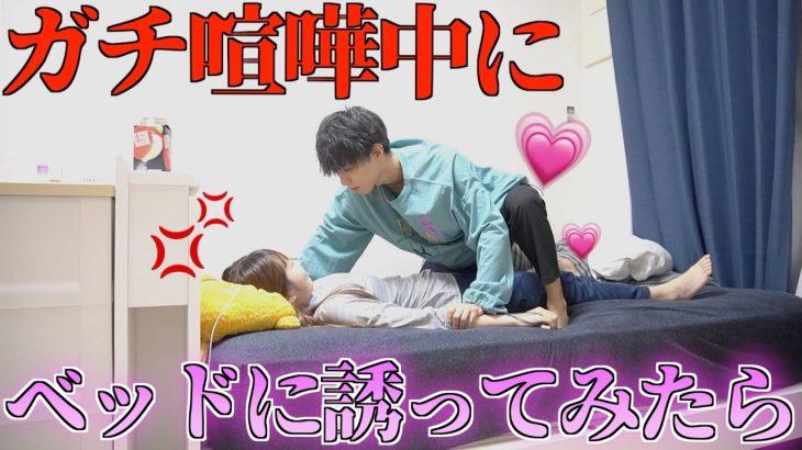 【ドッキリ】ガチ喧嘩中の彼女をHに誘ったら彼女はどうする!?